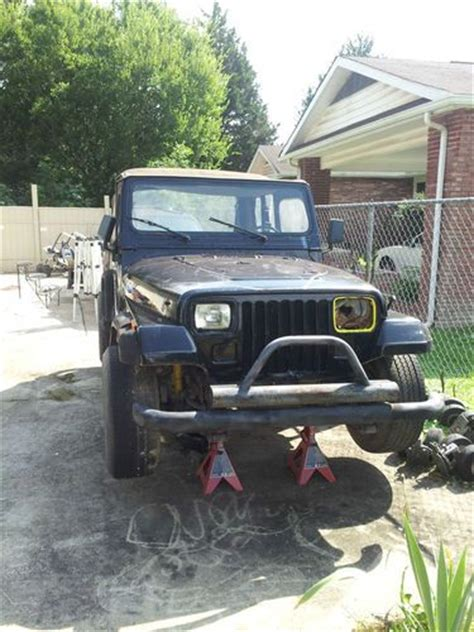 Jeep Wrangler 1992 Parts Purchase Used 1992 Jeep Wrangler Yj Parts Jeep Only Lot