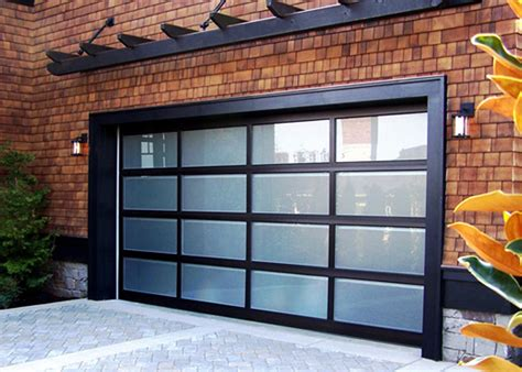 glass garage doors monterey california