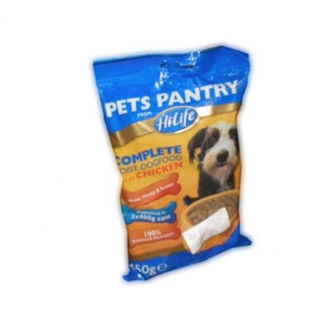 Pet Pantry by Hi Pets Pantry Chicken Moist Food 450g Approved