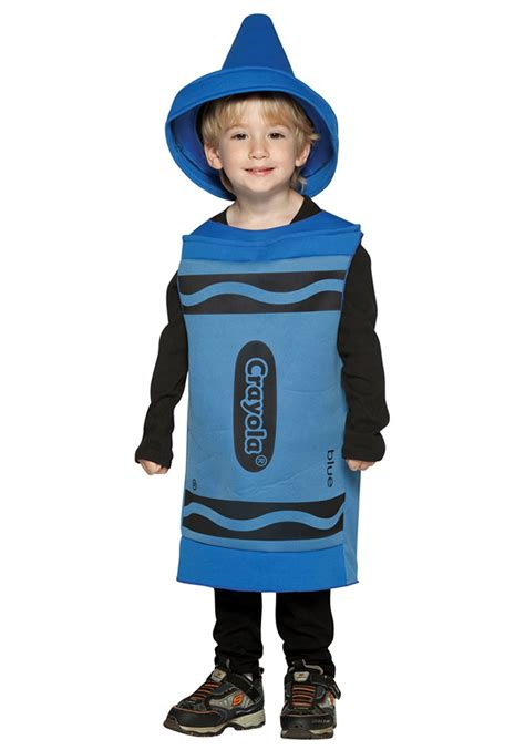 toddler big blue crayon costume toddler and infant crayon costumes