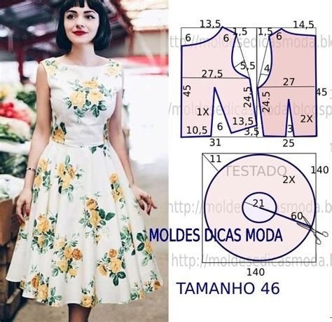 moldes translate english molde de vestido maria de medeiros patterns sewing