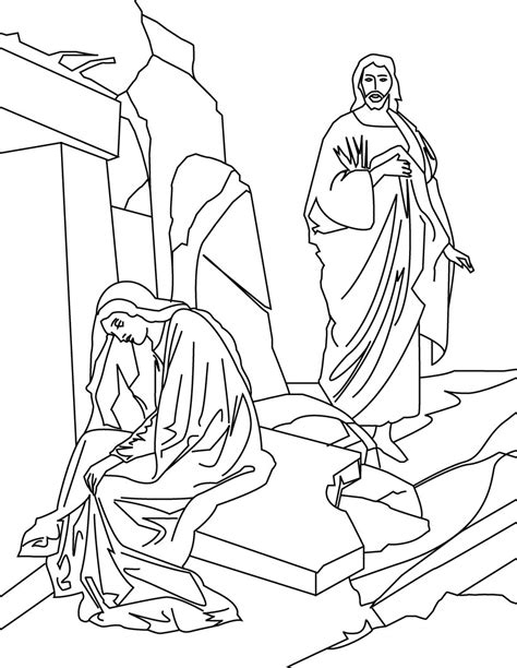 coloring page for resurrection free printable jesus coloring pages for kids