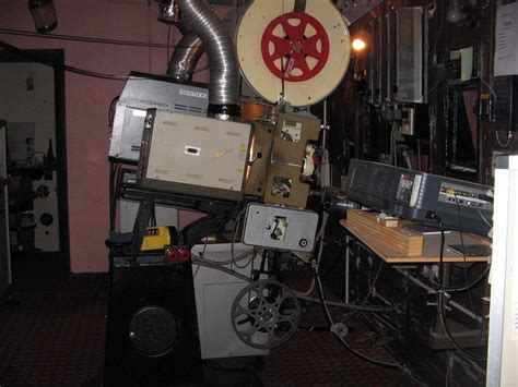 Projection Room by Inside Cygnet Cinema Projection Room Perth