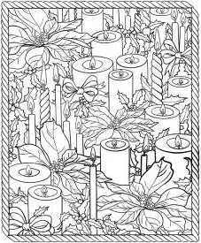 christmas coloring pages for adults 2017 dr odd