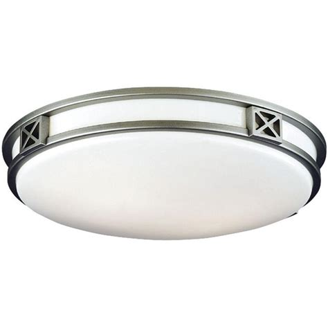 Silver Ceiling Lights Philips Crossroads 2 Light Glacier Silver Ceiling Fixture F206012u The Home Depot