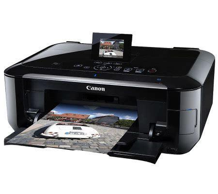 Printer Bluetooth Canon canon mg6220 inkjet multifunction printer w wi fi bluetooth page 1 qvc