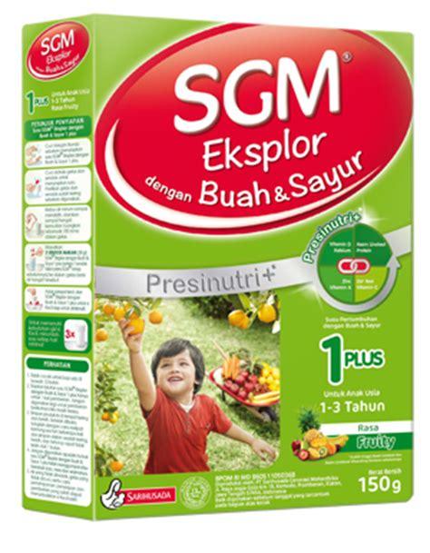 Sgm Buah Dan Sayur 1 Plus by Sarihusada Sgm Eksplor 1plus Dengan Buah Sayur