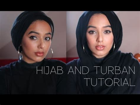 tutorial hijab turban you tube hijab and turban tutorial simple and quick hijab styles