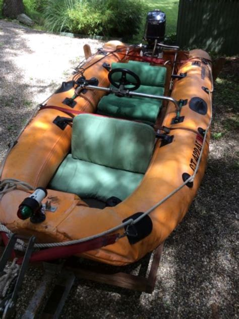 running lights for inflatable boats rare 1982 12 ft metzler brigant inflatable boat for sale
