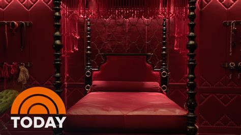 50 Shades Of Grey Room by Fifty Shades Inside The Room The Exclusive Today
