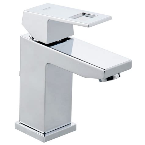 grohe rubinetti grohe 23127000 eurocube polished chrome one handle