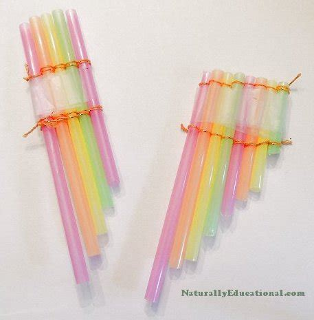 Paper Straw Crafts - 15 cool things to make with straws