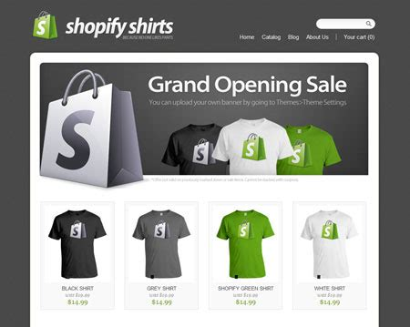 shopify themes for t shirts 15 best shopify themes for free download