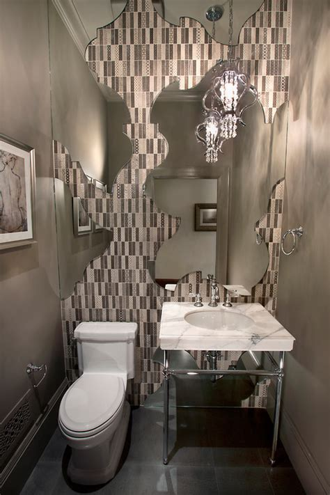 Powder Room Wall by Powder Rooms With Panache