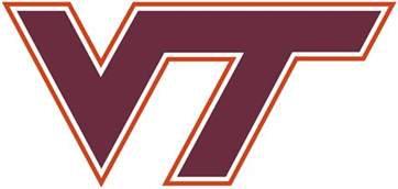 va tech colors virginia tech hokies