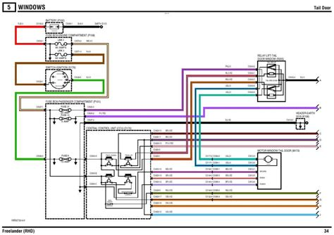 freelander 1 wiring diagram 27 wiring diagram images