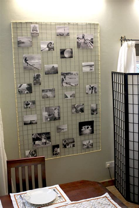 diy wire photo display for the love of wonder