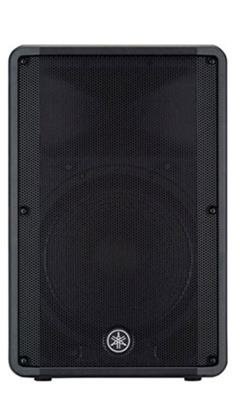 Speaker Yamaha Dbr 15 yamaha dbr15 powered speaker dj subwoofer dj audio