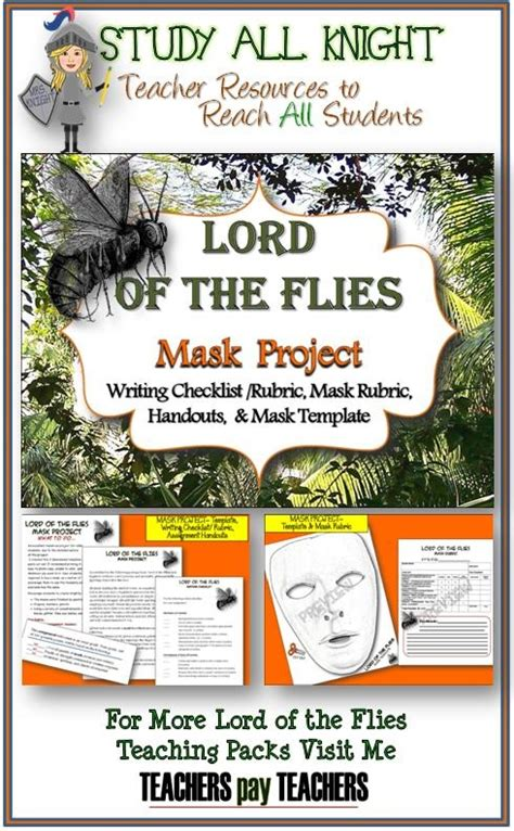 printable version of lord of the flies lord of the flies mask project the fly the o jays and lord