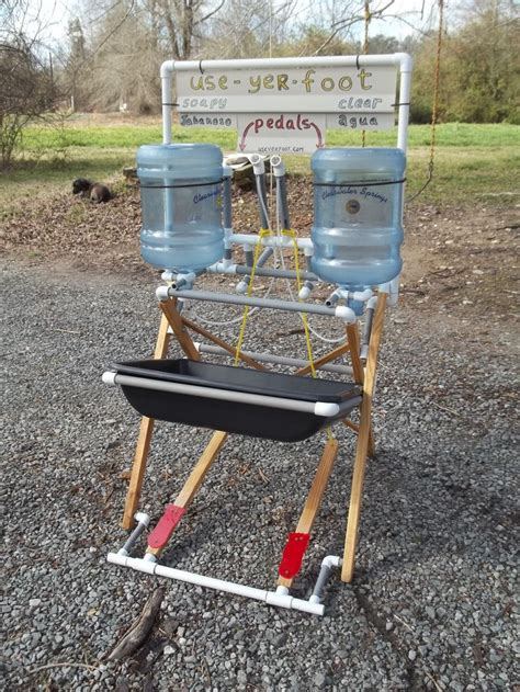 portable outdoor sink station best 25 cing washing station ideas on