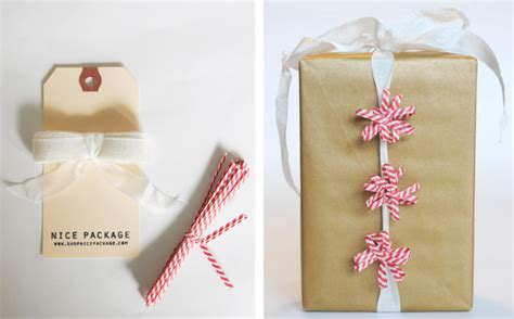 Handmade Gift Wrapping Ideas - diy package ideas going home to roost