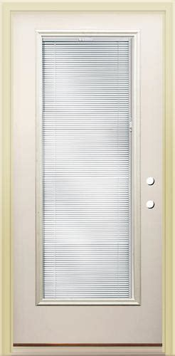 Exterior Doors With Blinds Between Glass Rt 8 Lite Prehung Steel Door With Blinds Between The Glass 36 Quot Back Side Yards