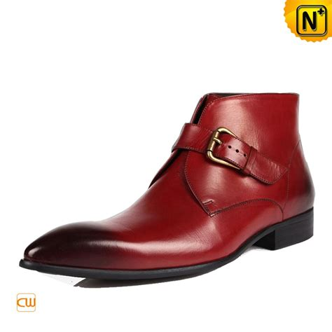 R A Shoes Leather mens italian leather boots cw763337