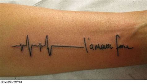 heartbeat running tattoo 17 best images about over my pacemaker scar on pinterest
