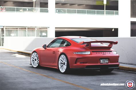 porsche matte matte porsche 991 gt3 on hre p200 wheels my car portal