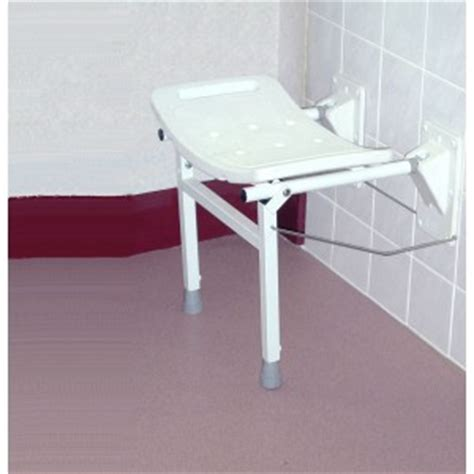elgin wall mounted shower seat  support legs asm