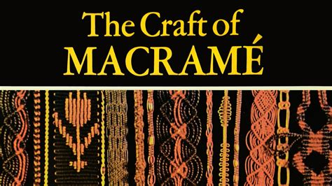 the craft of macram 233 1972 book review