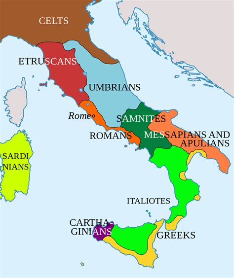 how did rome treat different sections of its conquered territory genetic history of italy wikipedia