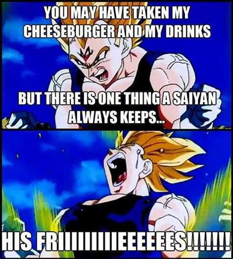Dragon Ball Z Memes - don t take vegeta s food dragon ball z photo 35538595