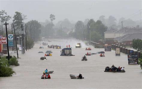 houston adoption image of harvey in houston shows immense flood rescue effort houston