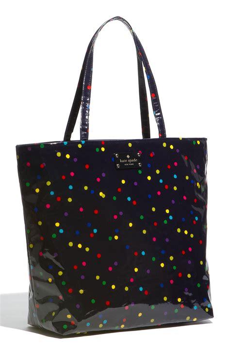 Kate Spade Daycation Bon Shopper kate spade daycation bon coated canvas shopper in multicolor multi dot lyst