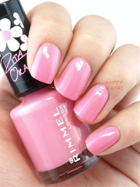best opi polish for 60 year olds rimmel london 60 seconds nail polish by rita ora in quot 270
