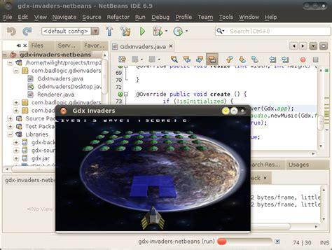 libgdx tutorial netbeans using libgdx from netbeans mostly