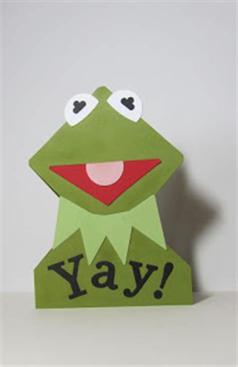 Dollar Origami Frog On A Pad Kermit I Couldn T - kermit the frog card family crafts