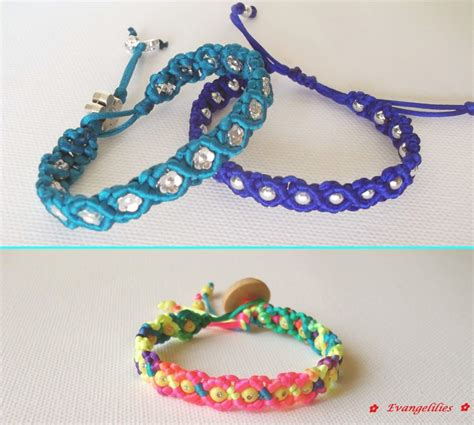 Easy Macrame Bracelet Tutorial - 95 best images about evangelilies macrame on