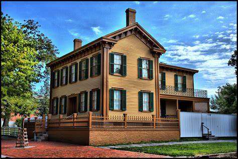 abraham lincoln s springfield illinois home a photo on