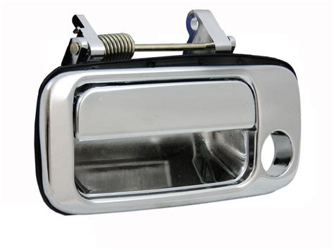 Toyota Calya Outer Handle Chrome Jsl toyota 80 series landcruiser outer chrome door handle left lhs front 90 97 aftermarket