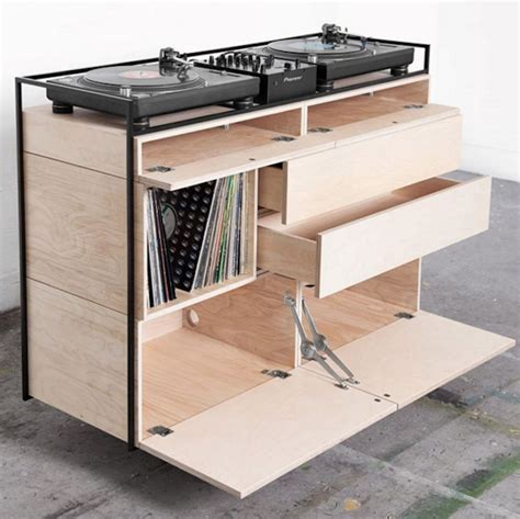 mobile consolle dj check out this new sleek and mobile dj console