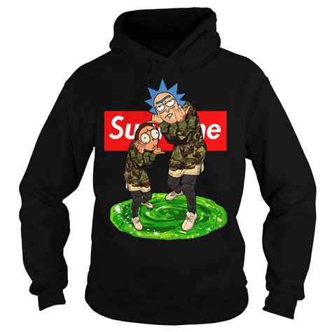supreme clothing hoodie official rick and morty supreme hoodie shirt sweater and