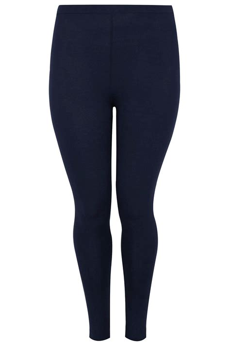 Legging Basic Gap navy cotton essential plus size 16 to 36