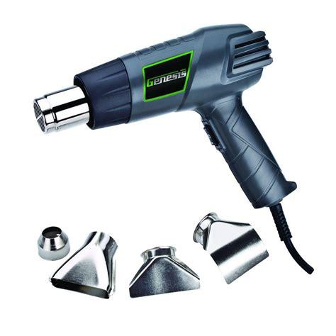 genesis 12 5 dual temperature heat gun kit ghg1500a