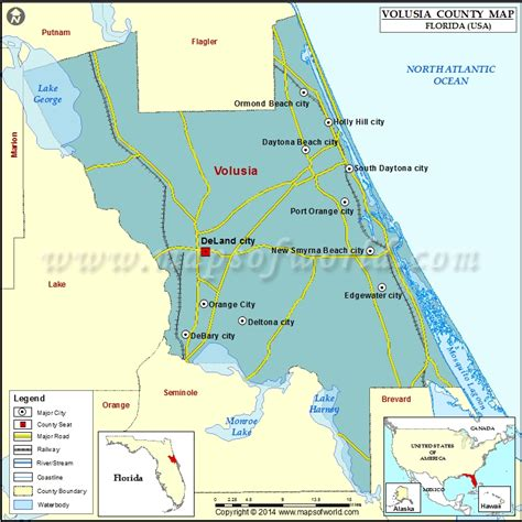 zip code map volusia county volusia county map florida