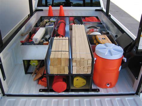 truck bed organizer surveyor s organizers survey truck