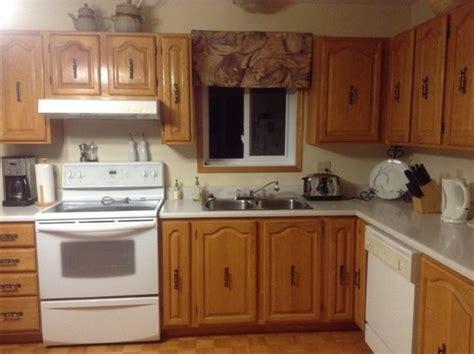 teindre armoire de cuisine moderniser mes armoires de cuisine en ch 234 ne