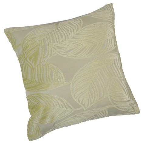 scatter cushion sofa jacquard leaf design home sofa bed scatter cushion cover