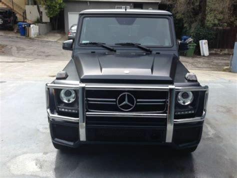 Mercedes Jeep Matte Black Buy Used 2014 Mercedes G63 Amg Matte Black Designo Package